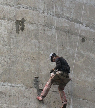 Промышленный альпинизм работа с веревкой