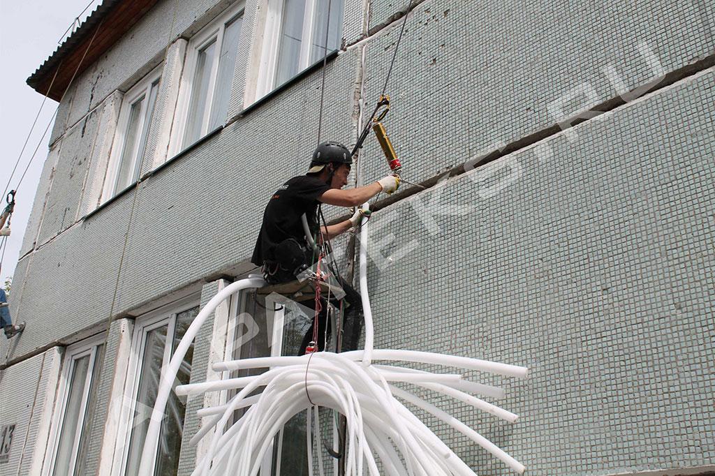 Заделка внутреннего шва на окнах